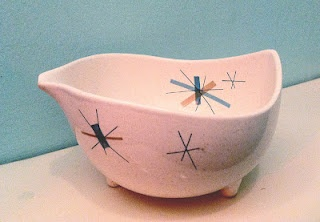 Salem Hopscotch Vegetable Bowl.  I have a glass with this pattern.
