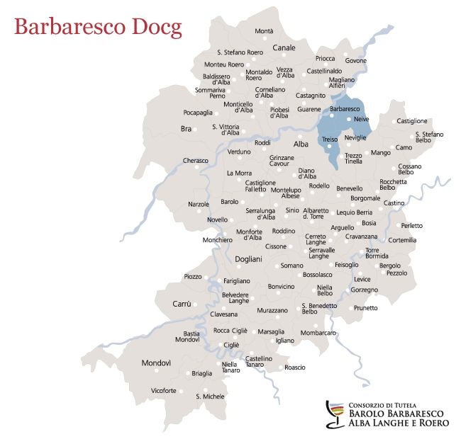 Barbaresco Docg | Denominazioni | Consorzio di Tutela Barolo Barbaresco Alba Langhe e Roero