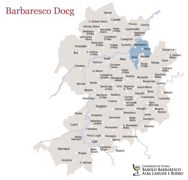 Barbaresco docg denominazioni consorzio di tutela for Arredamenti cuneo e provincia