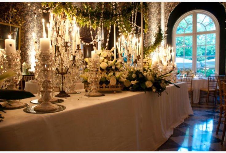 Crystal tableful