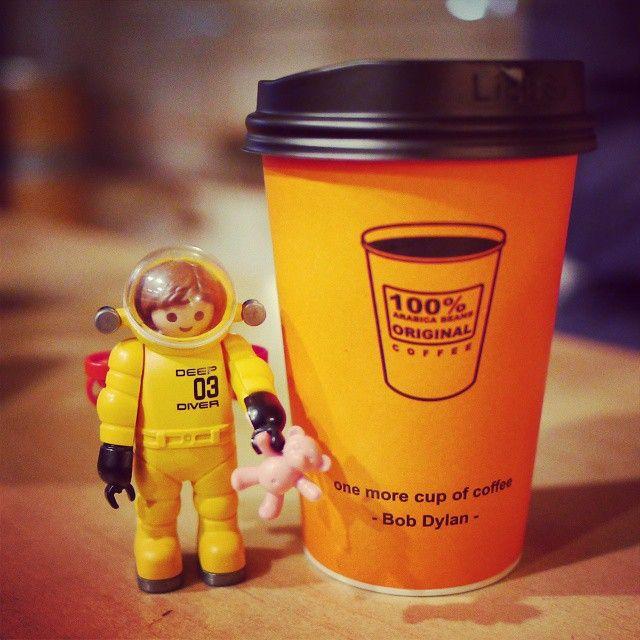 방금 #파니니 랑 #청포도주스 주문했는데 커피가 먹고싶어졌다ㅋ ㅜㅠ 어쩌지? #playmobil #플레이모빌 #플모스타그램 #toys #toystagram