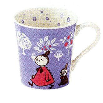 Moomin mug toy mugs (purple)
