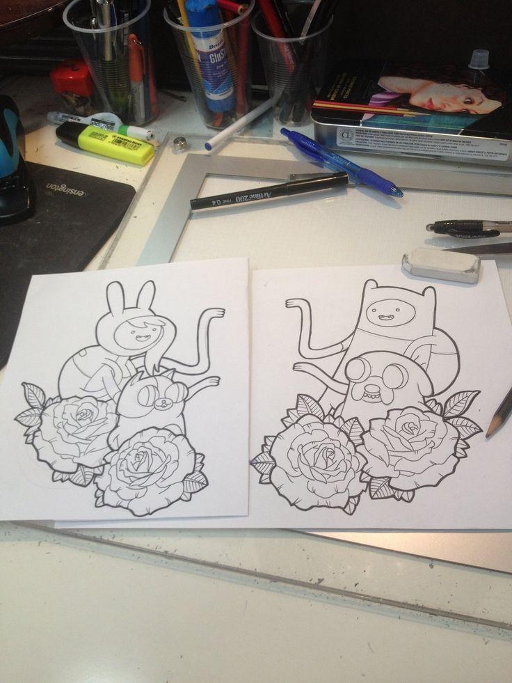 Adventure Time Tattoos by DaveSeven92 on DeviantArt