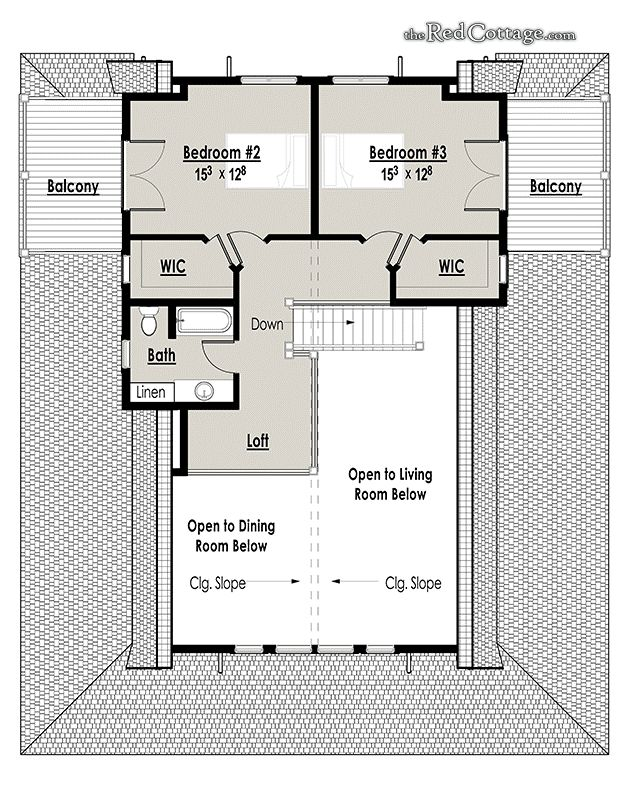 The Red Cottage Floor Plans, Home Designs, Commercial Buildings,  Architecture, Custom Plan Part 74