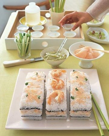 Sushi Cake Recipe- A Dish Everyone Will Be Talking About! Japanese fusion.
