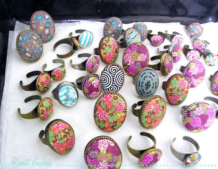 How to work with polymer clay millefiori canes - 101 basics for beginners