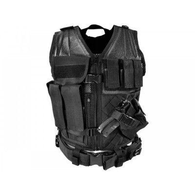 American SWAT Team Tactical Black Vest