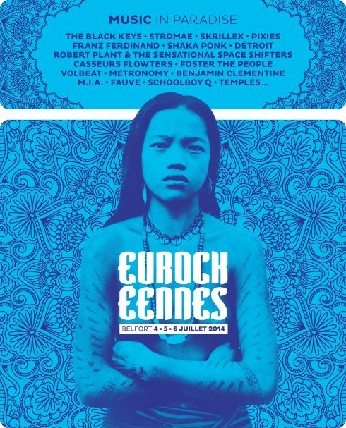 Music in paradise, The Black Keys, Stromae, Skrillex, Pixies, Franz Ferdinand, Shaka Ponk, Detroit, Robert Plant & the sensational space shi...