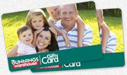 Bunnings gift card - great for new house purchases