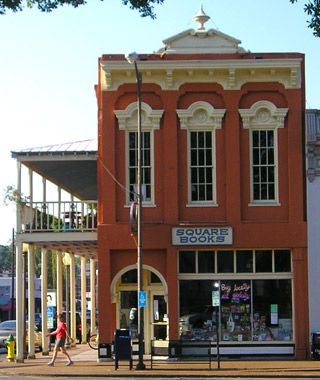 While you're here, stop by America's Best Bookstores: Square Books on the Oxford square.