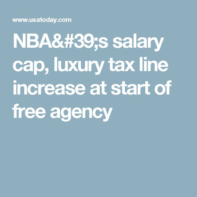 NBA's salary cap, luxury tax line increase at start of free agency   http://www.meganmedicalpt.com/fmcsa-walk-in-cdl-national-registry-certified-medical-exam-center-in-philadelphia.html