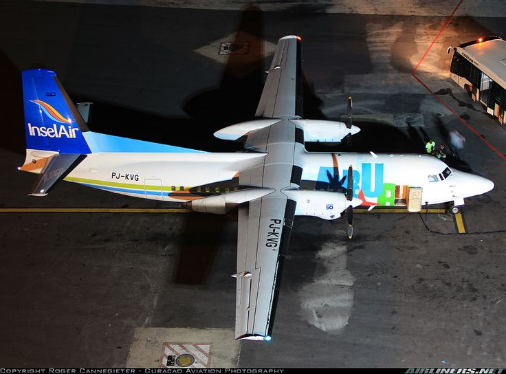 Fokker 50 - Insel Air Aruba   Aviation Photo #2020595   Airliners.net
