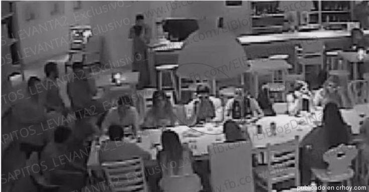 """Las imágenes del secuestro del hijo del """"Chapo"""" Guzmán"""