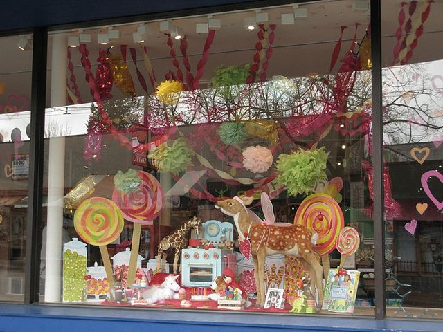 march colourful candy window display 004 by mary (anemone, honey), via Flickr