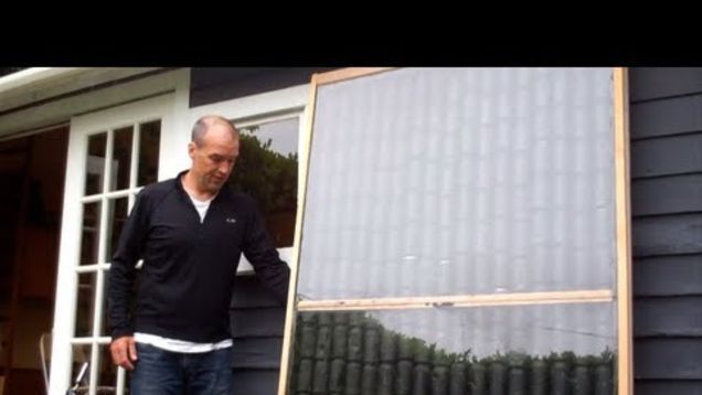 If you're looking for a green way to heat up a small indoor space, Seattle resident Peter Rowan shows you how to make a solar powered heater using a bunch of leftover soda cans.