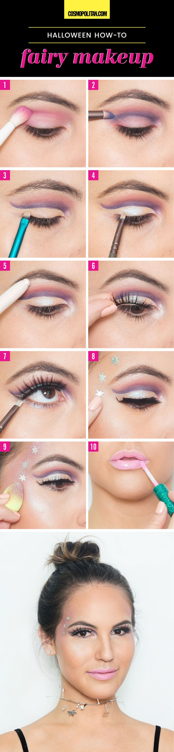 10 Halloween Looks You Can Create With Makeup You Already Have - Cosmopolitan.com
