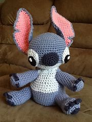 Ravelry: Amigurumi Stitch! from Lilo and Stitch pattern by Sweet N' Cute Creations