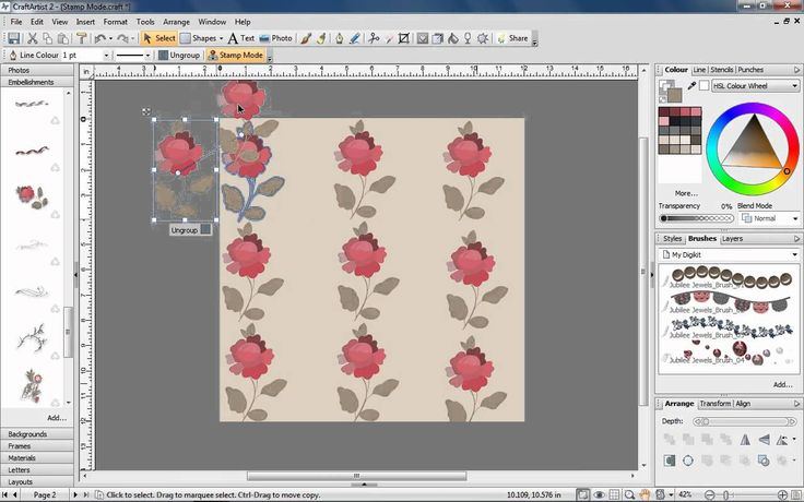 The Digital Crafting Toolkit Part 4: Stamp Mode