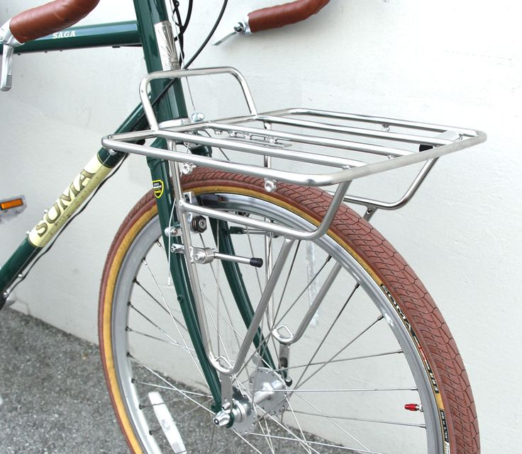 Deluxe Porteur Rack – Stainless Steel | SOMA Fabrications