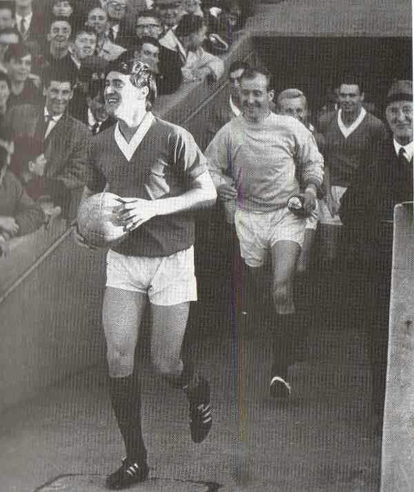 Jim Baxter of Rangers in 1965.