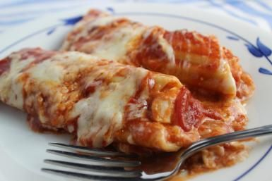 20 Quick and Easy Chicken Casserole Recipes: Creamy Mexican Manicotti