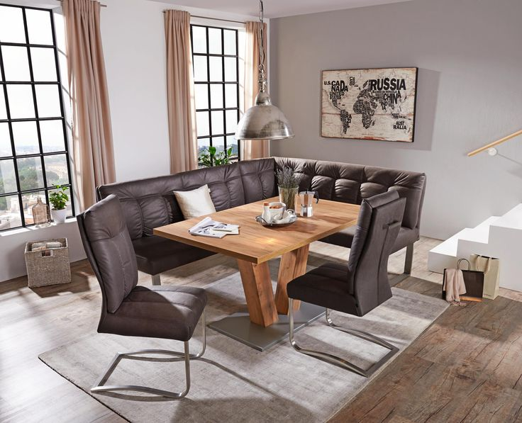 die besten 25 rustikaler esstisch ideen auf pinterest rustikale tische rustikaler. Black Bedroom Furniture Sets. Home Design Ideas
