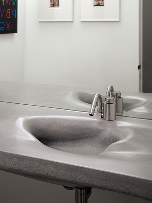 Ogrydziak/Prillinger Architects Designed The Gallery House In San  Francisco, California./Awsome Design Of This Sink!
