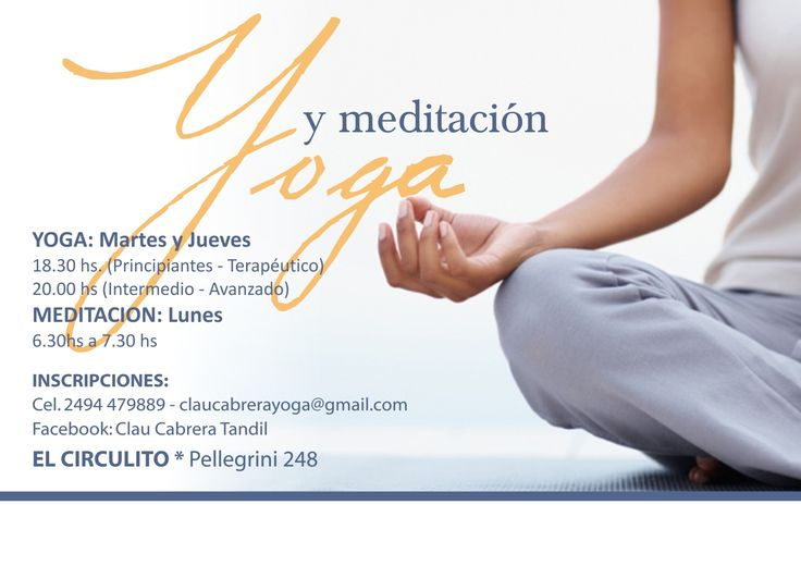 Cartel de Yoga