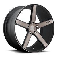 """Niche Milan Wheel 19"""" M134 (Black Machined DDT)"""