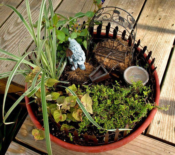 Amazon.com : Echo Valley Gnome Garden Starter Accessory Kit : Lawn And  Garden Hand