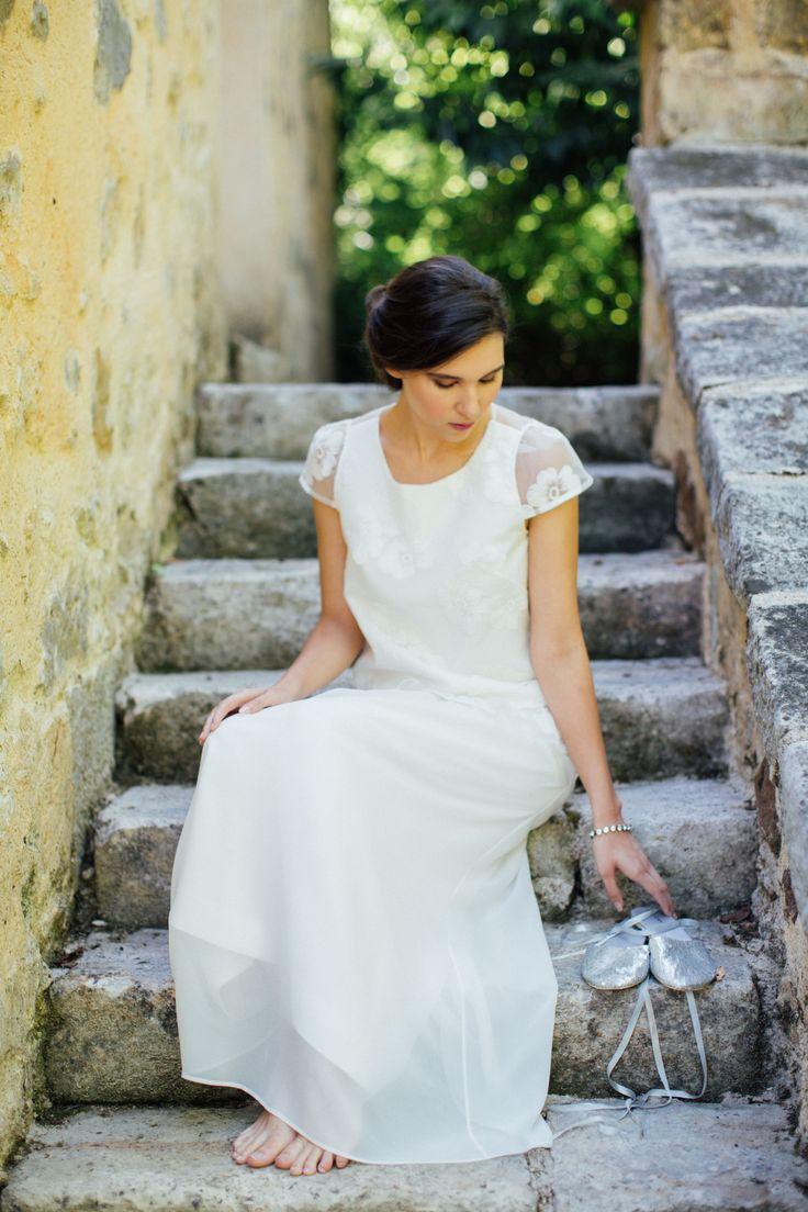 Salomé Gautard, Créatrice de robes de mariée sur-mesure pic ©Alex Tome photography