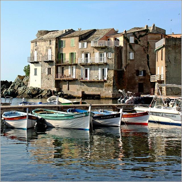Erbalunga harbour    Erbalunga, Brando  , Haute-Corse