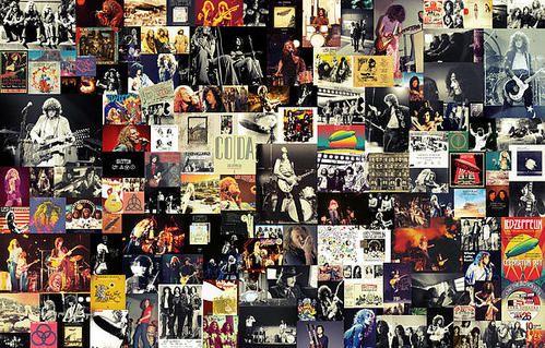Led Zeppelin Collage Poster By Taylan Soyturk