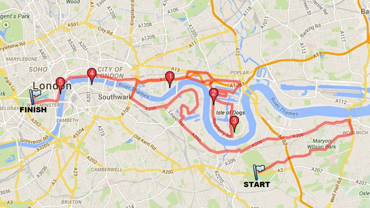 Find the best places along the London Marathon route to watch the London Marathon this year. Here's our guide to the best bars, pubs and restaurants along the London Marathon route.