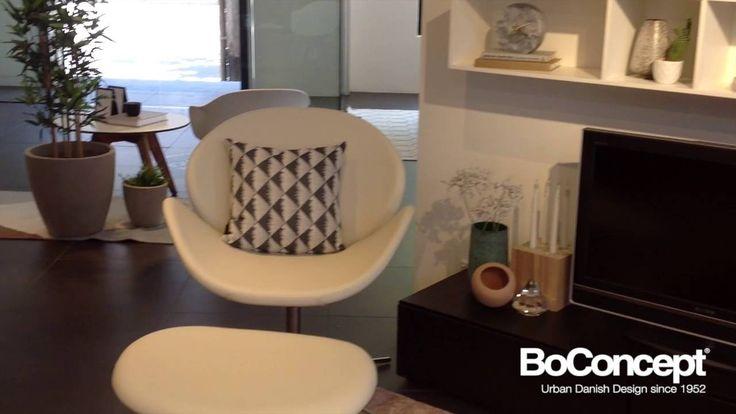 Lugano wall unit interior styling by BoConcept Sydney