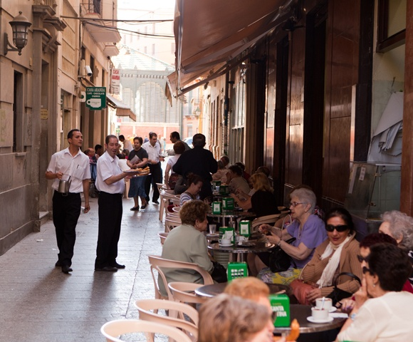 Casa Aranda in Malaga - churros en koffie | Beleef Málaga