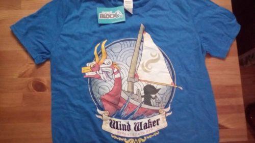 New-Legend-of-Zelda-Windwaker-Medium-T-Shirt