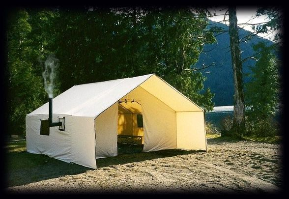 Wall Tent made in Canada