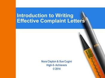 an effective plan for writing a routine claim letter is to