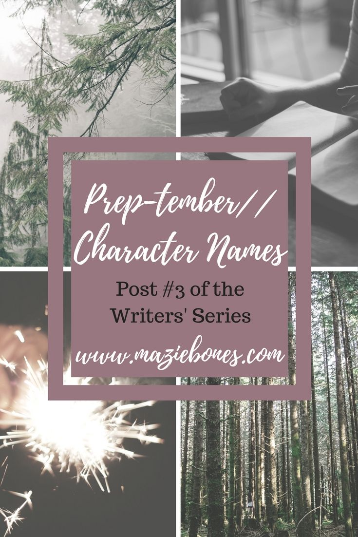 Character names can be one of the most daunting parts of writing novels, at least in my opinion. Committing to a character name is kind of like naming a child or a pet. It's a name that you are going to have to hear and write and say a whole lot so it really …