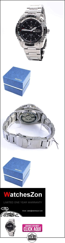 SEIKO SNZJ05K1 - Reloj de Caballero movimiento automático con brazalete metálico  ✿ Relojes para hombre - (Gama media/alta) ✿ ▬► Ver oferta: http://comprar.io/goto/B005FGDV1E