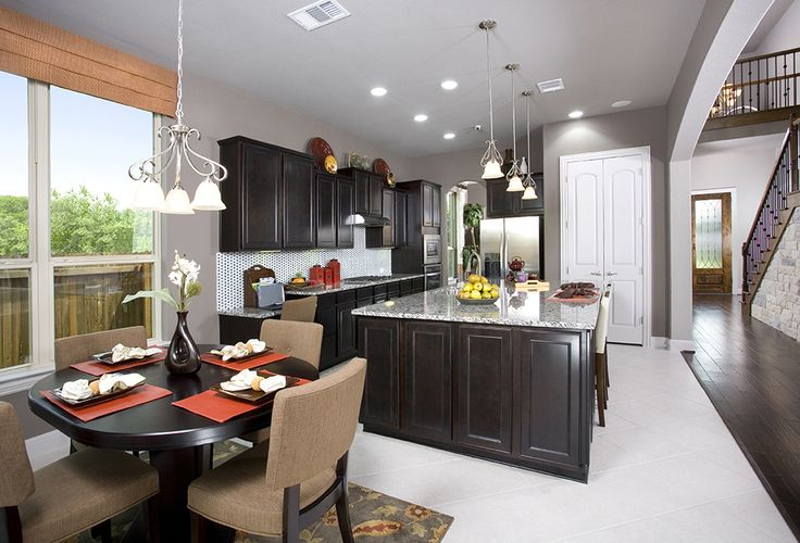 Dark Countertops Kitchen