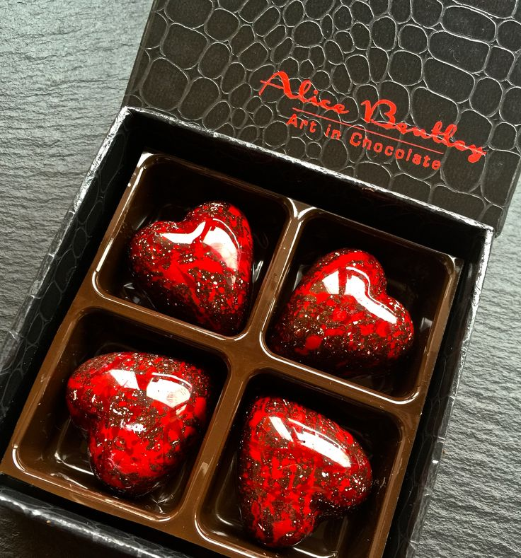 Red Blood Hearts for your Love! www.alicebentleychocolates.com