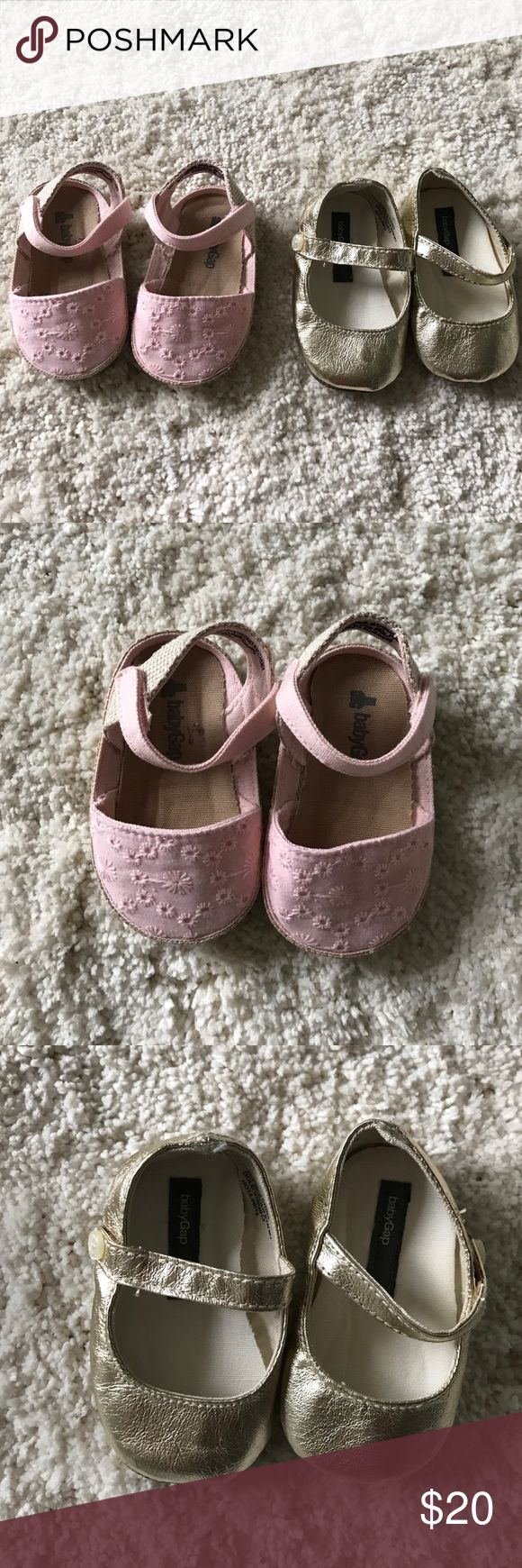 Baby Gap shoes Baby Gap shoes. New without tags - never worn. GAP Shoes