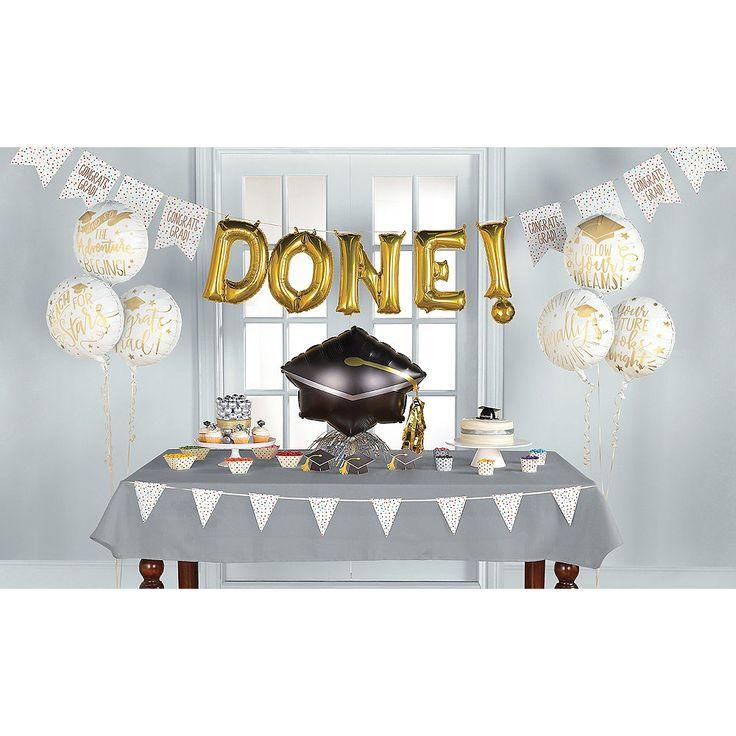 Graduation Room Decorating Kit 21 pcs