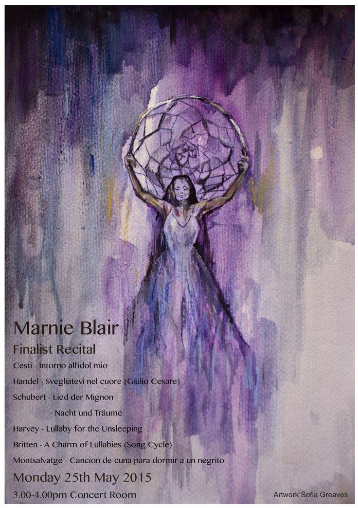 Marnie Recital Flyer