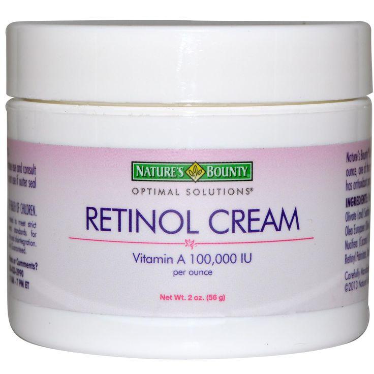 Nature's Bounty, Retinol Cream