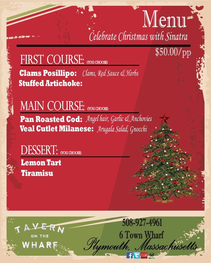 Celebrate Christmas with Strictly Sinatra at Tavern on the Wharf | Hockomock Swamp Supper Club & Desserts Emporium