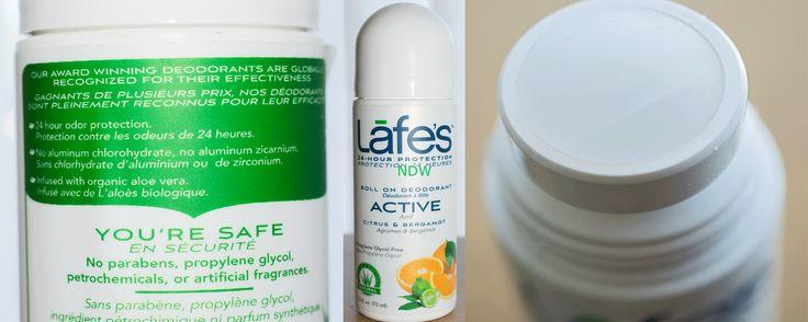 Lafe's Deodorant - Review