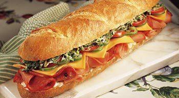 Submarine Sandwiches, Po' Boys Sandwiches, Dagwood Sandwiches, & Italian Sandwiches